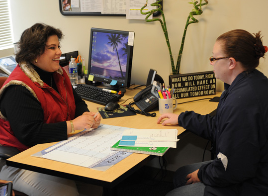 A BC3 counselor advises a student