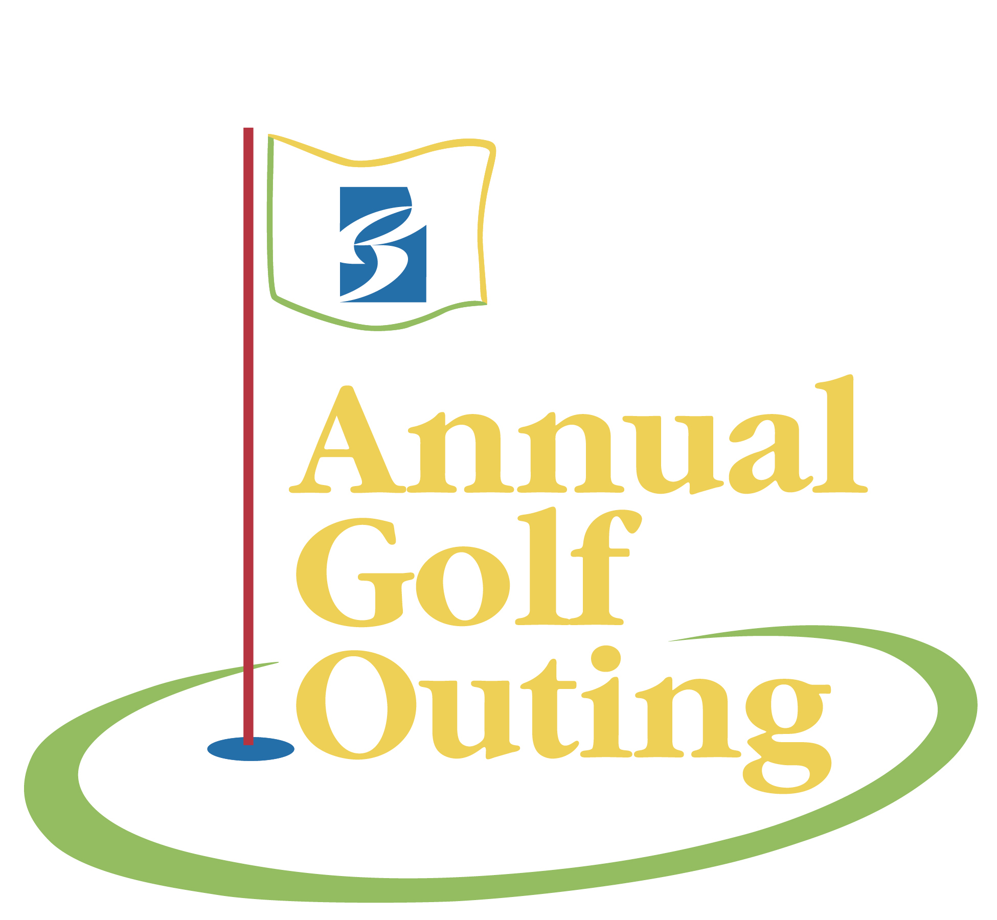 graphic design - annual golf outing logo